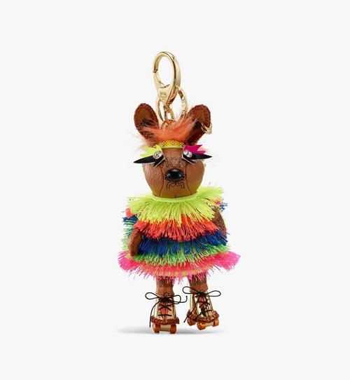 Porte-clés MCM Zoo lapin disco