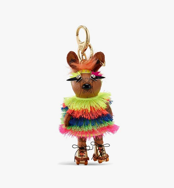 MCM MCM Zoo Disco Rabbit Charm Cognac MXZASXL06CO001 Alternate View 1
