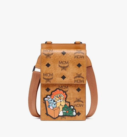 MCM x SAMBYPEN Crossbody Phone Case in Visetos
