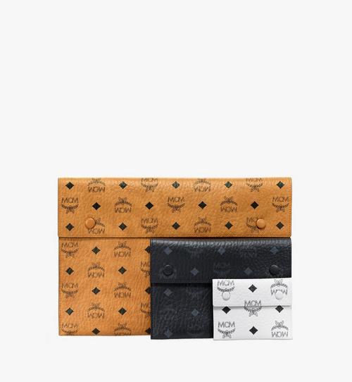 กระเป๋าเพาช์สามใบลาย Visetos Mix