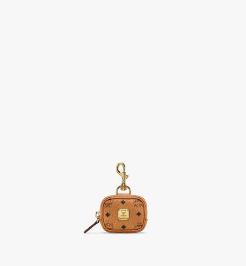 Porte-clés pochette horizontal à poche en Visetos Original