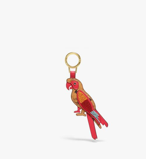 Visetos 皮革 MCM Zoo 2D 鸚鵡吊飾