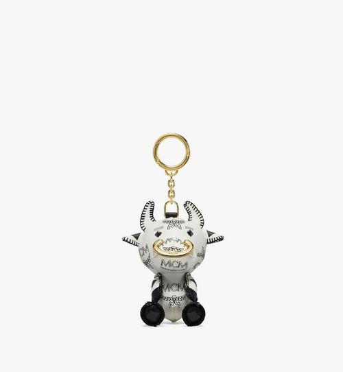 New Year Ox Charm in Visetos