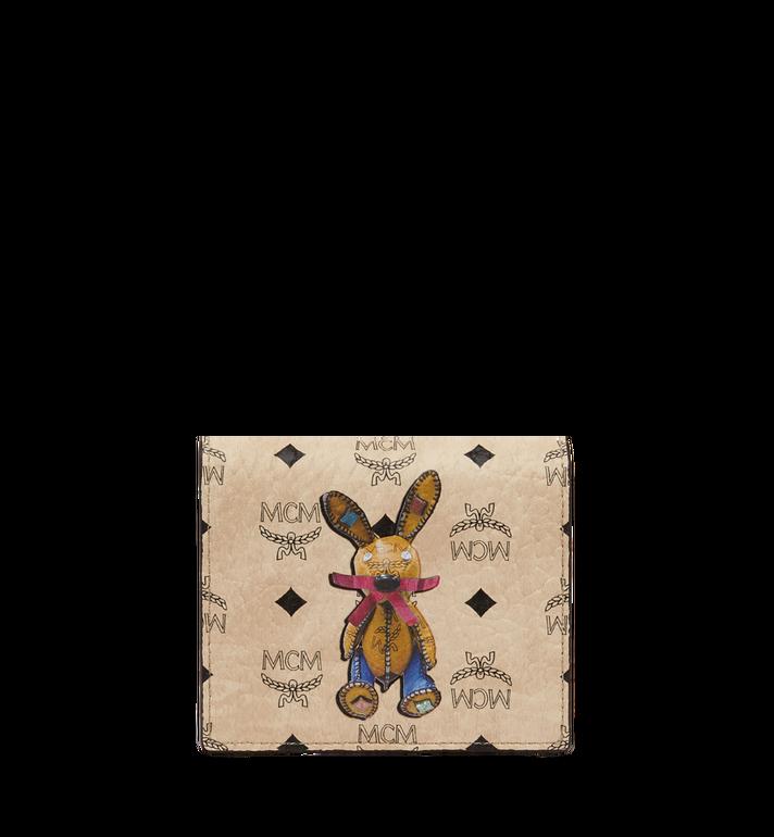 MCM Rabbit ID Wallet in Visetos Alternate View