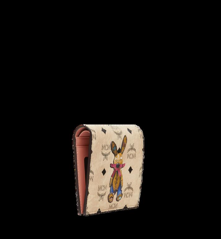 MCM Rabbit ID Wallet in Visetos Beige MYA7AXL15IG001 Alternate View 2