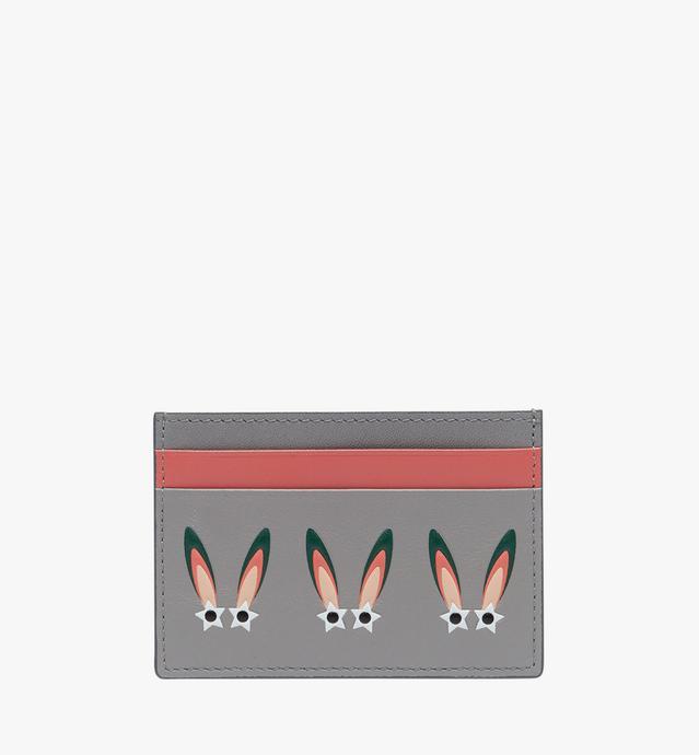 幻想兔皮革卡包