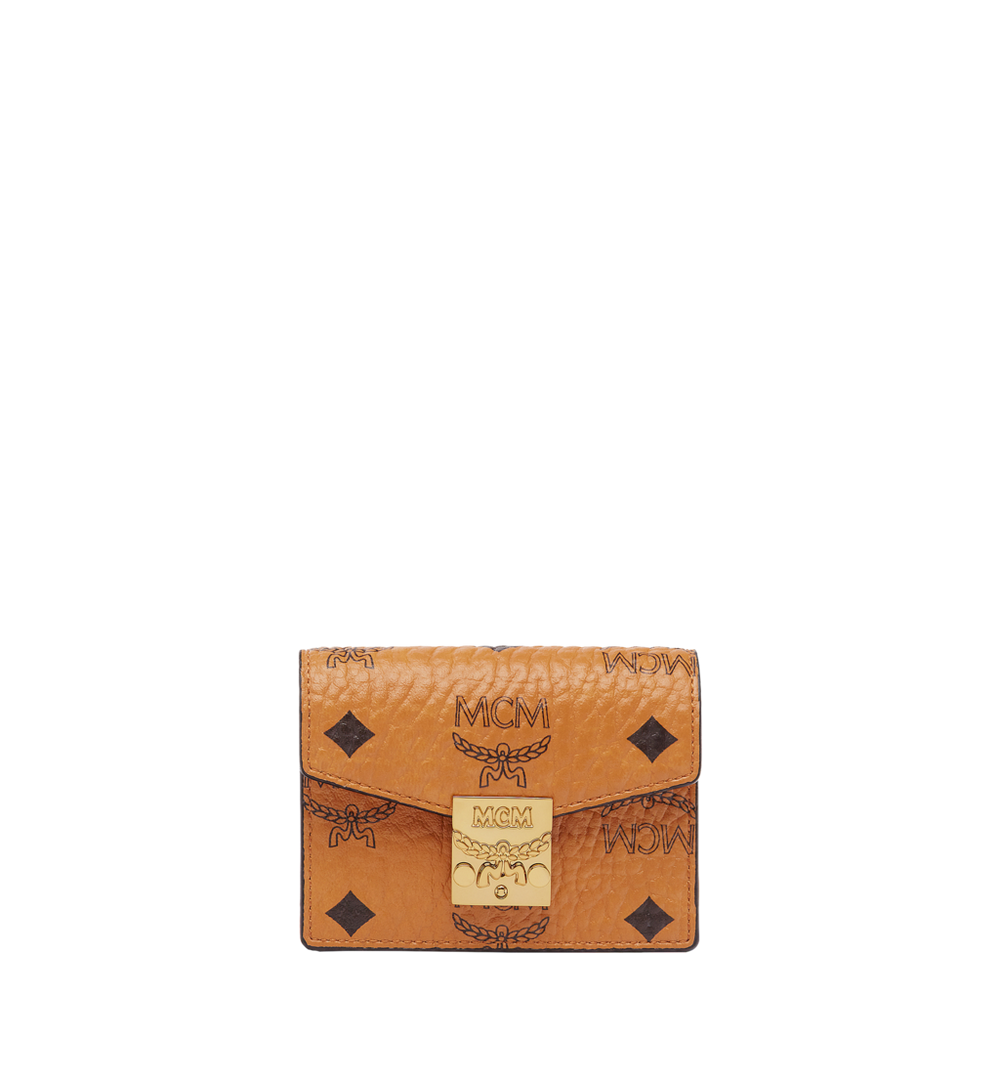 Patricia Accordion Card Case in Visetos 1