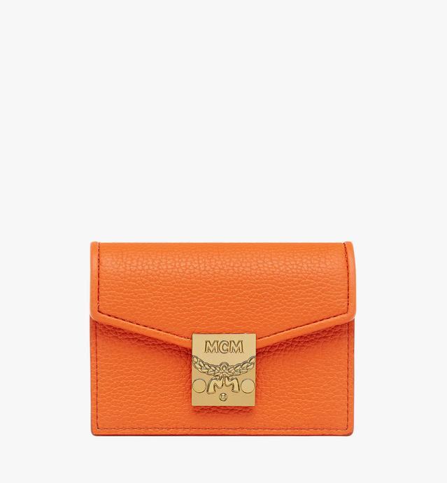 Patricia Card Holder in Grained Leather