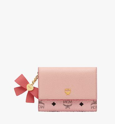 Mina Bow Charm Card Case