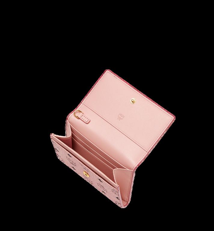 MCM Mina Bow Charm Card Case Pink MYA8SLL93PV001 Alternate View 4