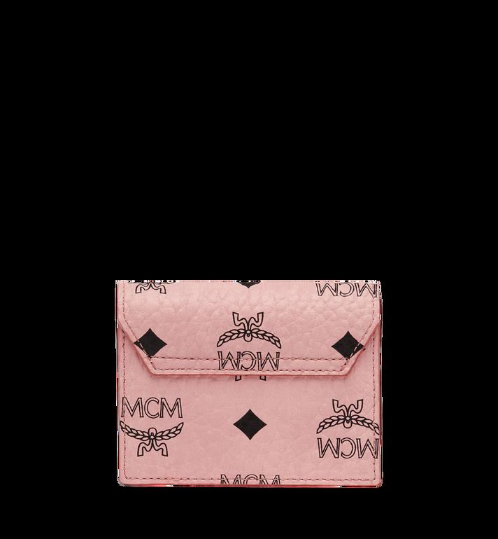 MCM Patricia Accordion Card Case in Visetos Alternate View 3