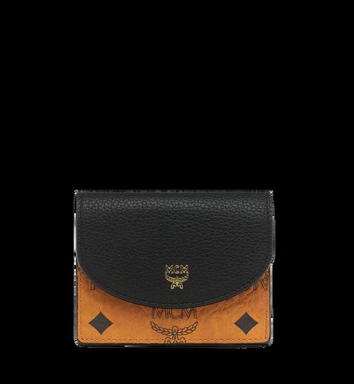 Accordion Card Case in Visetos Colorblock Leather