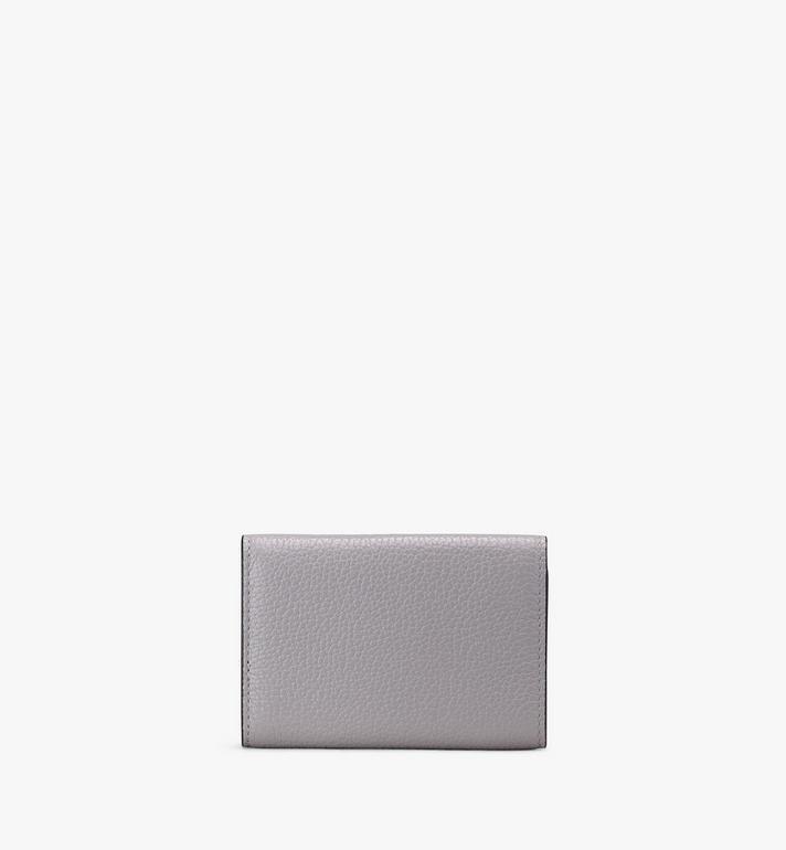 MCM Milano Mini Three-Fold Wallet Grey MYA9ADA05EZ001 Alternate View 2