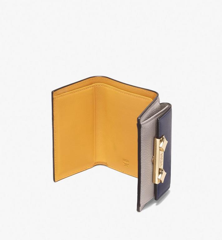 MCM Milano Mini Three-Fold Wallet Grey MYA9ADA05EZ001 Alternate View 3