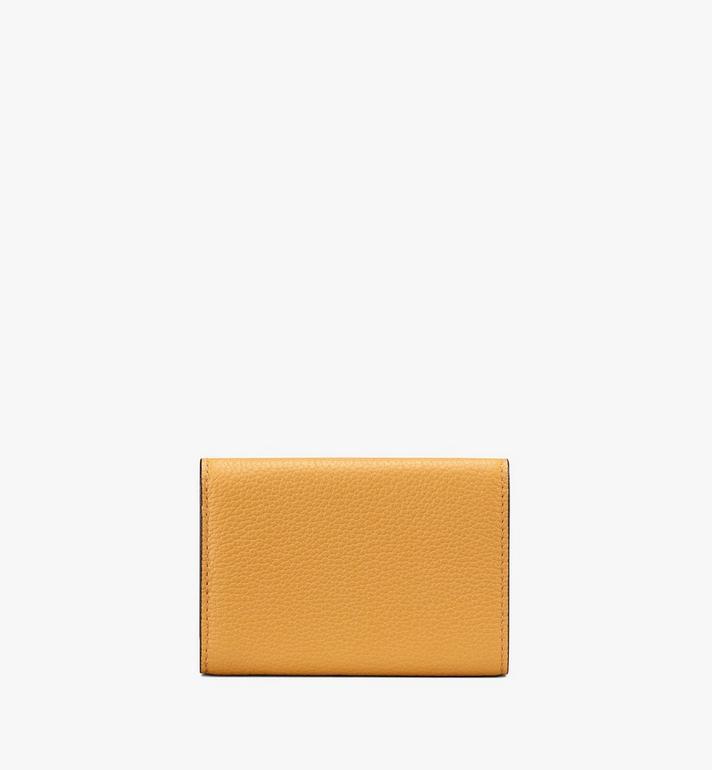 MCM Milano Mini Three-Fold Wallet Yellow MYA9ADA05YJ001 Alternate View 2