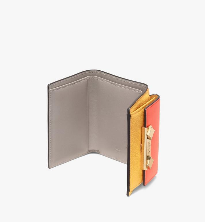 MCM Milano Mini Three-Fold Wallet Yellow MYA9ADA05YJ001 Alternate View 3