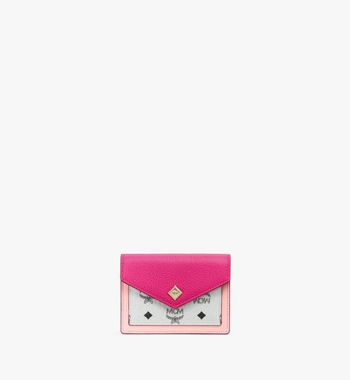 Love Letter Wallet in Color Block Leather