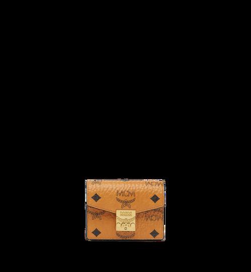Porte-cartes accordéon Patricia en Visetos