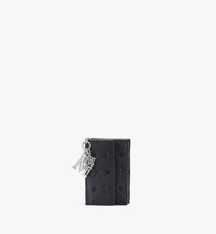 MCM Klara Mini Trifold Wallet in Monogram Leather Alternate View