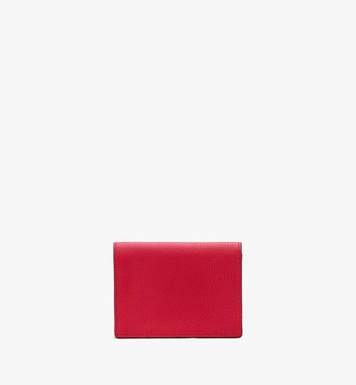 MCM Love Letter Mini Wallet in Park Avenue Leather Red MYAASLV01R4001 Alternate View 2