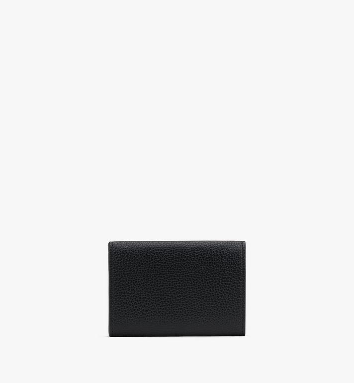 MCM Patricia Mini Trifold Wallet in Studded Park Ave Leather Black MYAASPA01BK001 Alternate View 2