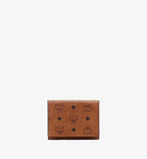 Dreifach gefaltete Brieftasche in Visetos
