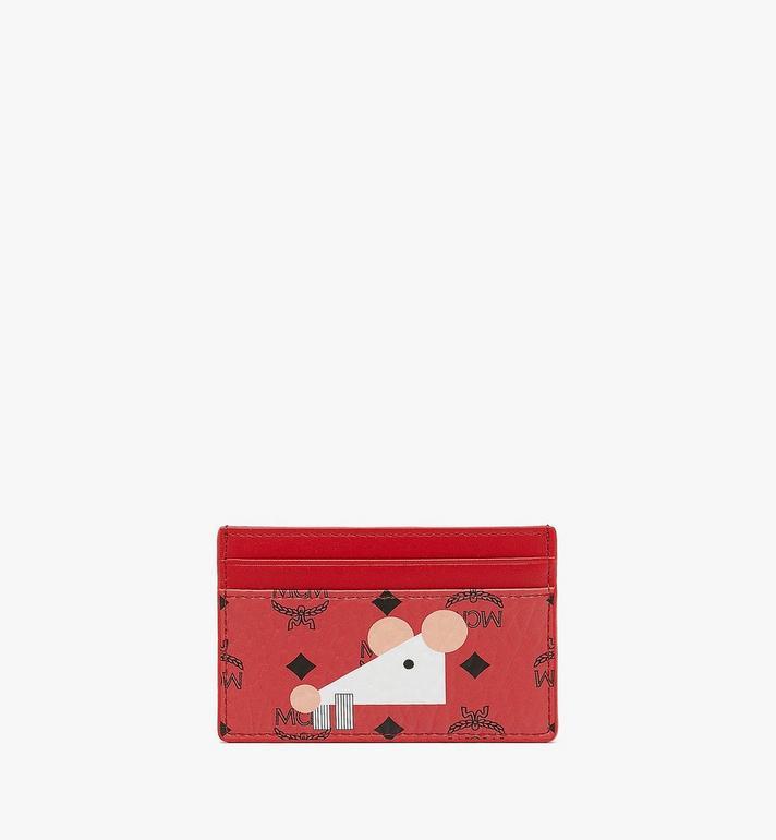 MCM 鼠年卡片夾 Red MYAASXL02RJ001 Alternate View 2