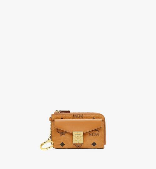 กระเป๋าใส่บัตรติดซิป Patricia ลาย Visetos