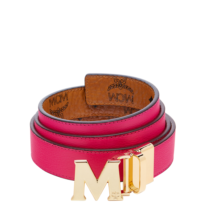 "MCM Color Visetos Reversible Belt 1"" Alternate View 2"