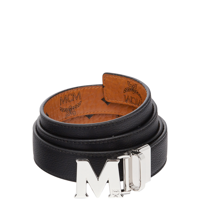 "MCM Color Visetos Reversible Belt 1"" Cognac MYB6AVC10CO001 Alternate View 2"