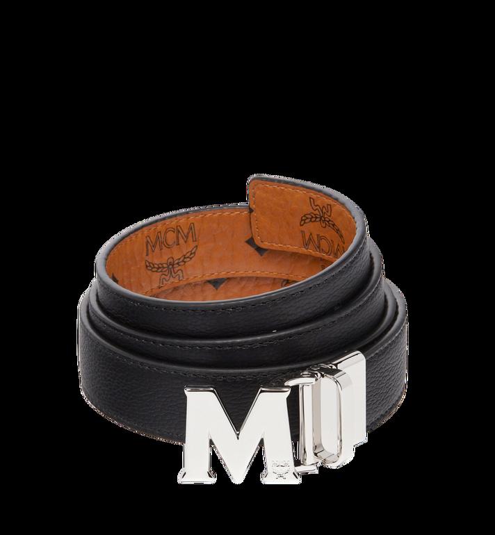 MCM Visetos 系列的 Claus M 1 吋可翻轉皮帶 Cognac MYB6AVC10CO001 Alternate View 2
