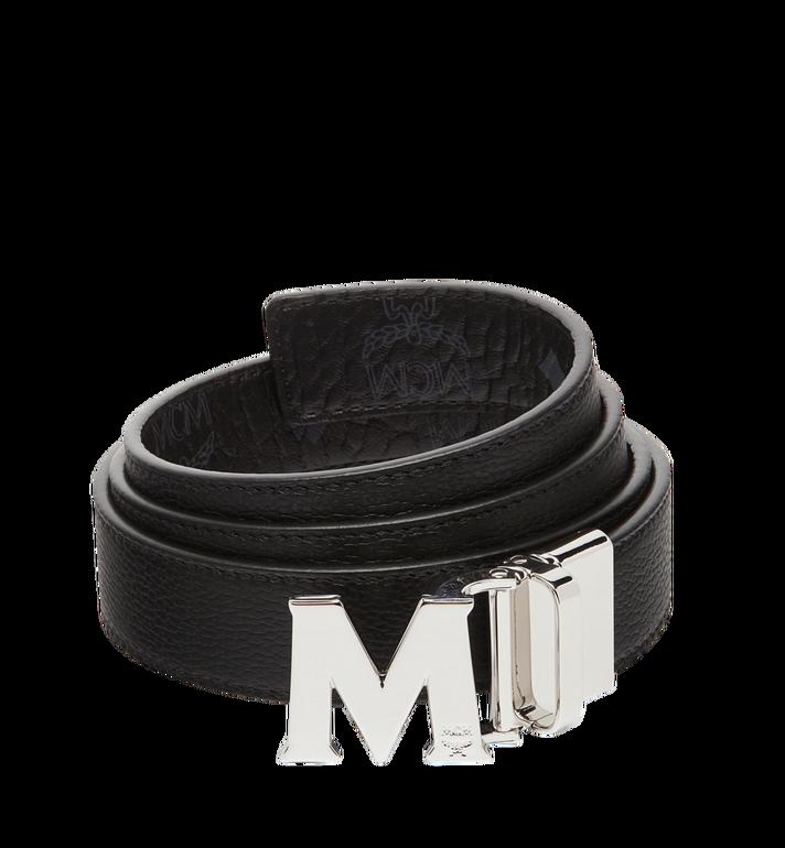 MCM Visetos 系列的 Claus M 1.2 吋可翻轉皮帶 Black MYB7AVC10BK001 Alternate View 2
