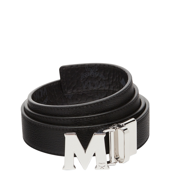 "MCM Claus M Reversible Belt 1.2"" in Visetos Black MYB7AVC10BK001 Alternate View 2"