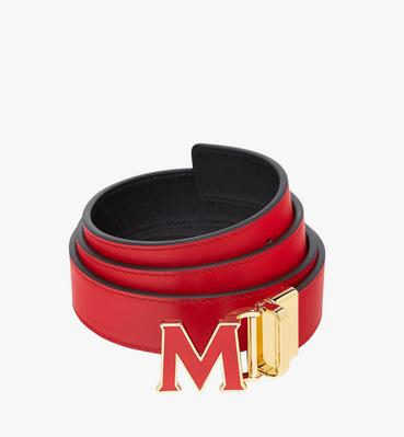 "Claus Enamel M Reversible Belt 1.2"" in Leather"