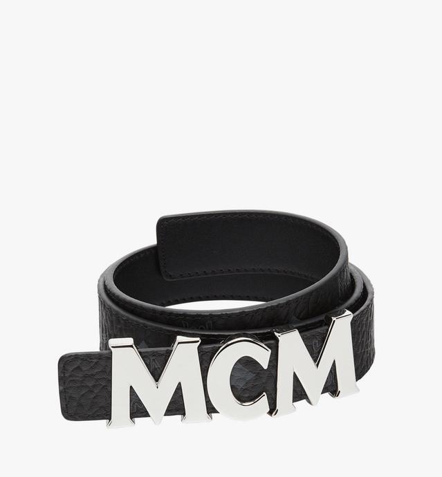 MCM 비세토스 레터 벨트