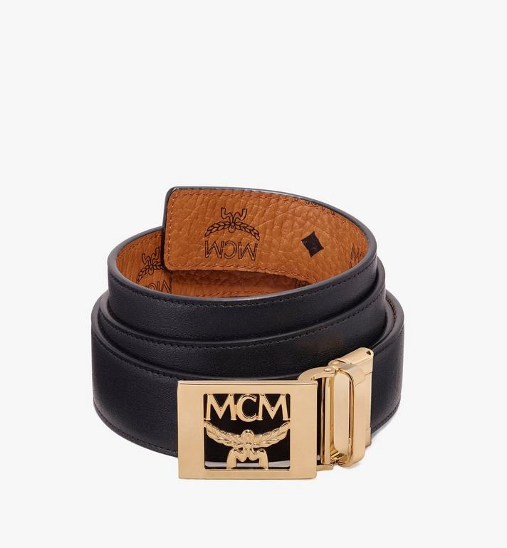 MCM เข็มขัดใส่ได้สองด้าน MCM Collection ลาย Visetos Cognac MYB9AMM36CO001 Alternate View 2
