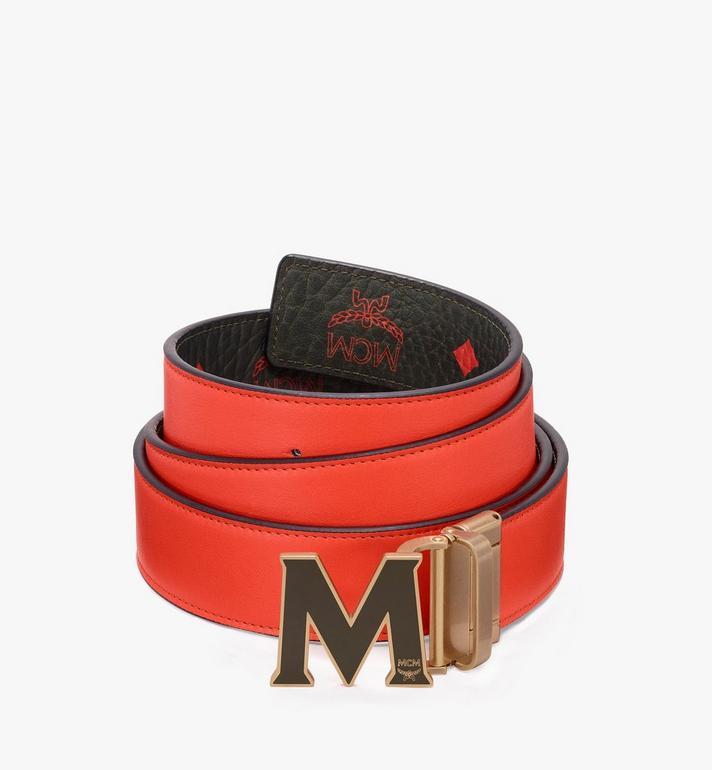 MCM Claus Flat M Reversible Belt in Visetos  MYB9AVI41G8001 Alternate View 2