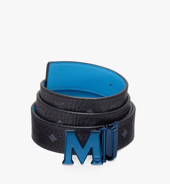 MCM Claus Flat M Reversible Belt in Visetos Alternate View