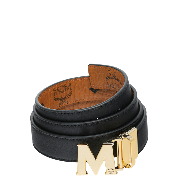 "MCM M Reversible Belt 1.2"" in Visetos Cognac MYB9SVC09CO001 Alternate View 2"