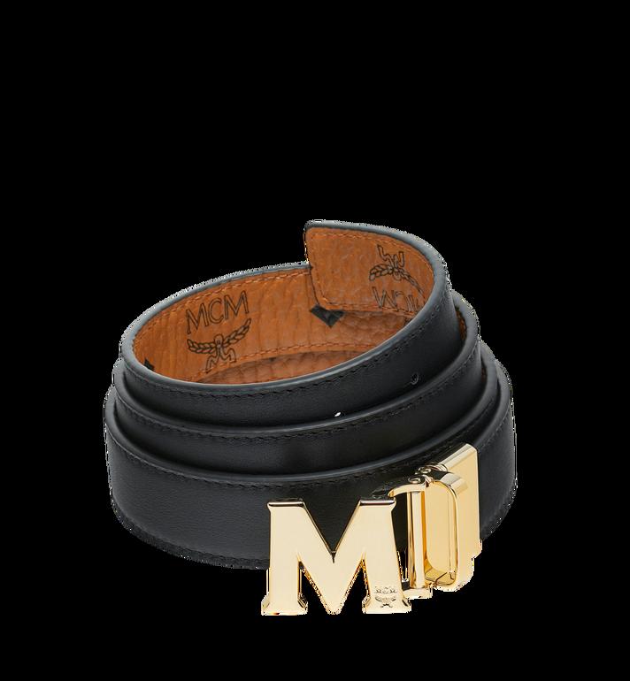 MCM Visetos皮革Claus M 1.2 吋可翻轉使用皮帶 Cognac MYB9SVC09CO001 Alternate View 2