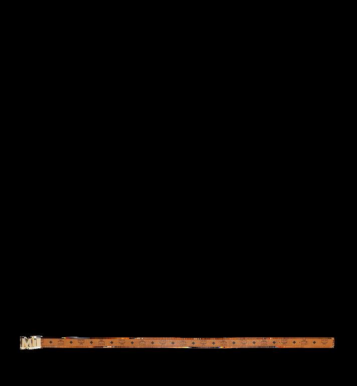 MCM Visetos皮革Claus M 1.2 吋可翻轉使用皮帶 Cognac MYB9SVC09CO001 Alternate View 3