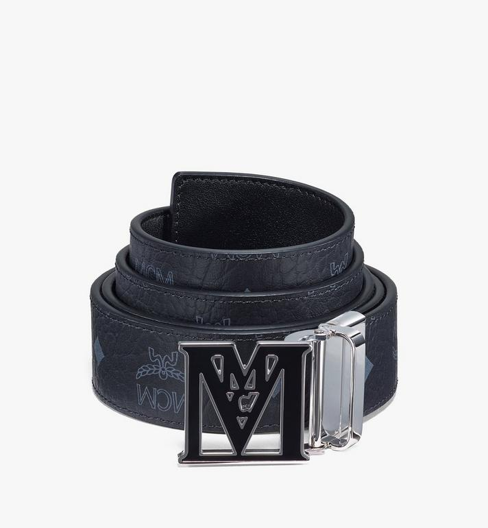 "MCM Mena Epoxy M Reversible Belt 1.5"" in Visetos Alternate View"