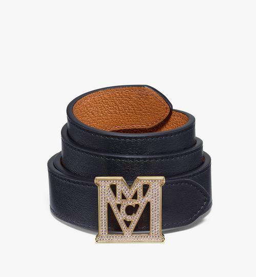 Mena M 3D Reversible Belt 2.5 cm in Visetos