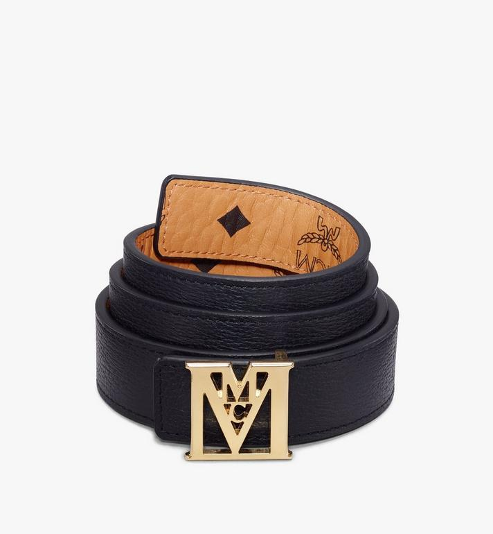 "MCM Mena M Reversible Belt 1"" in Visetos Cognac MYBAALM05CO100 Alternate View 2"