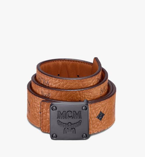 "MCM Collection Reversible Belt 1.5"" in Visetos"