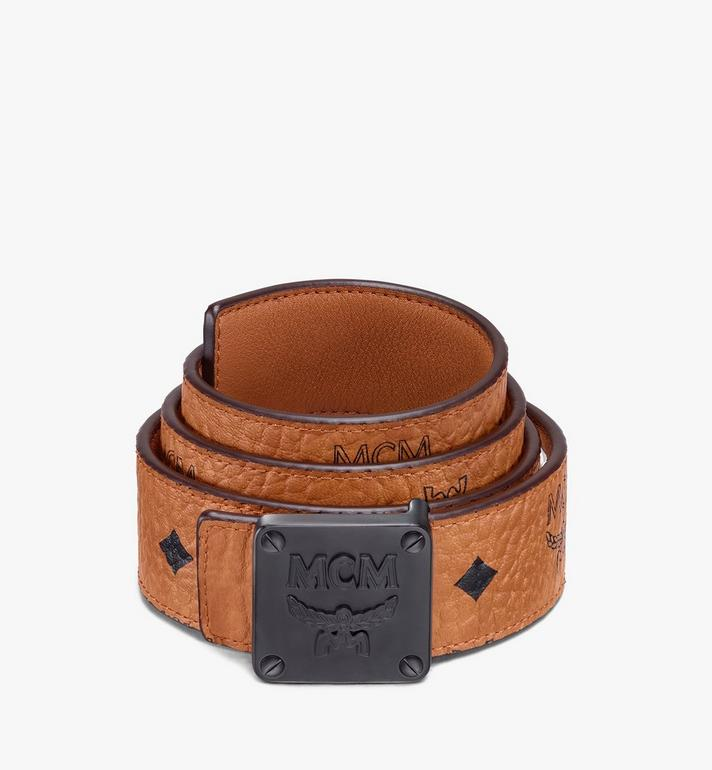 "MCM MCM Collection Reversible Belt 1.5"" in Visetos Alternate View"