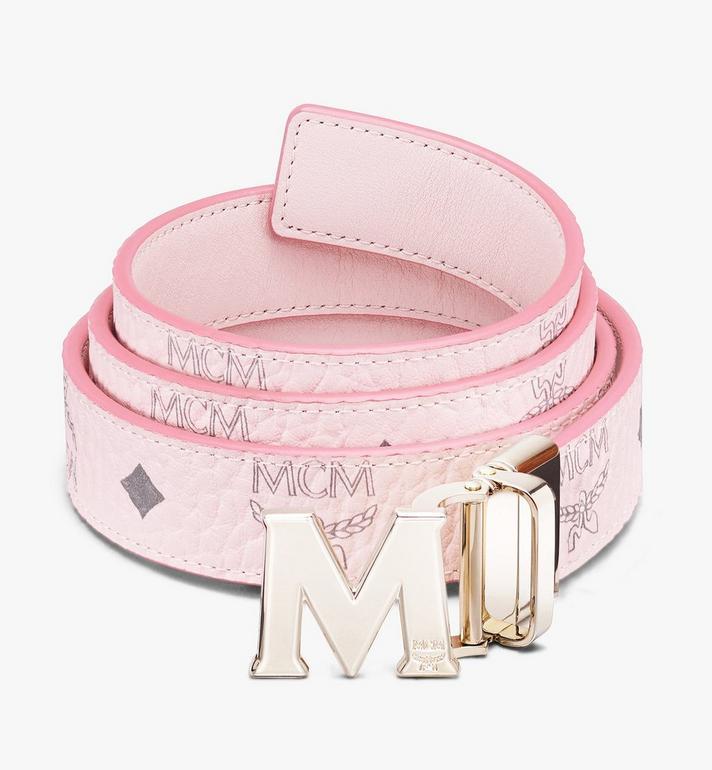 "MCM Claus M Reversible Belt 1"" in Visetos Alternate View"