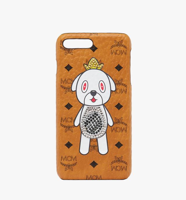 MCM x Eddie Kang Gray iPhone 6S/7/8 Plus Case