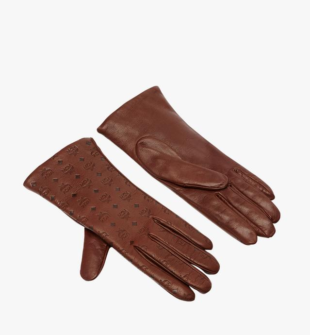 Women's Monogram Leather Gloves