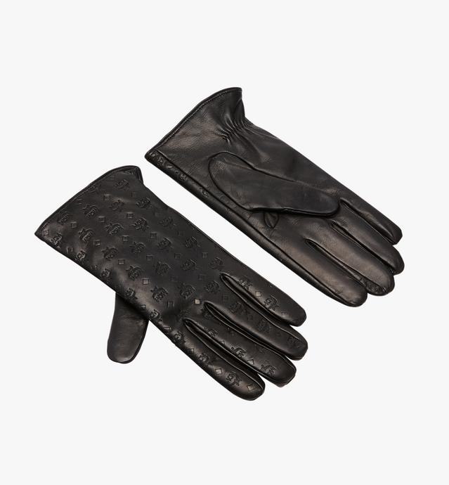 Men's Monogram Leather Gloves